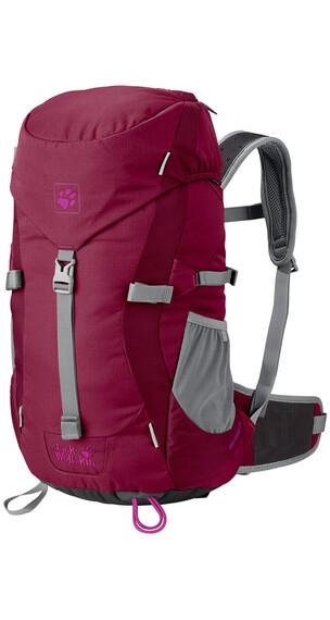 Jack Wolfskin Alpine Trail rugzak Kinderen rood
